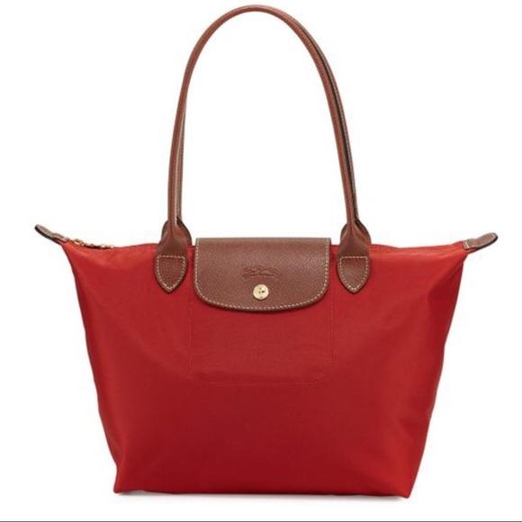 1e55055a3dd0 New Longchamps Paris Medium Long Handle - 4 colors